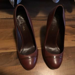 Cole Haan Brown Platform Pump, size 7